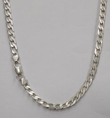 925 Stamped chain approx 21""