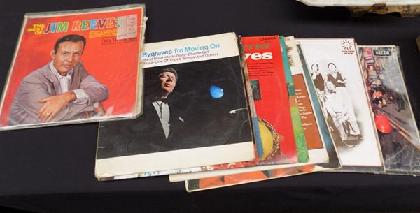 Selection of LP's