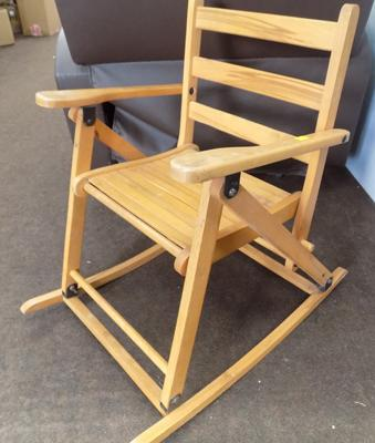 Child's folding rockingchair
