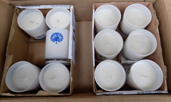 Box of candles