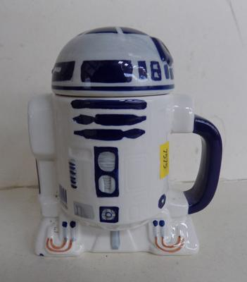 Star Wars ceramic R2D2 lidded pot