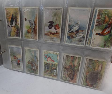 Cigarette card album