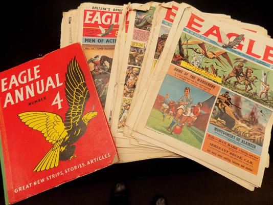 Selection of Eagle comics + Annual