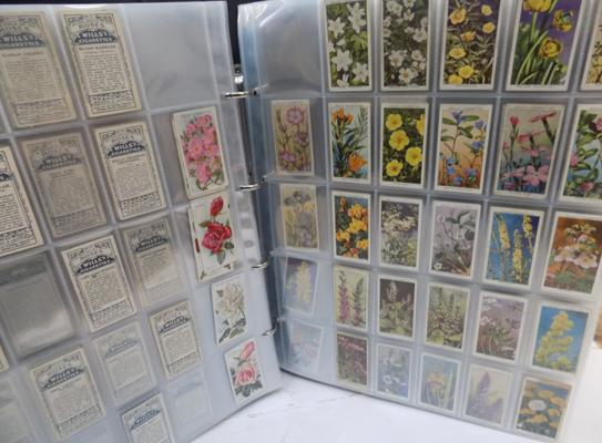 Large cigarette card album