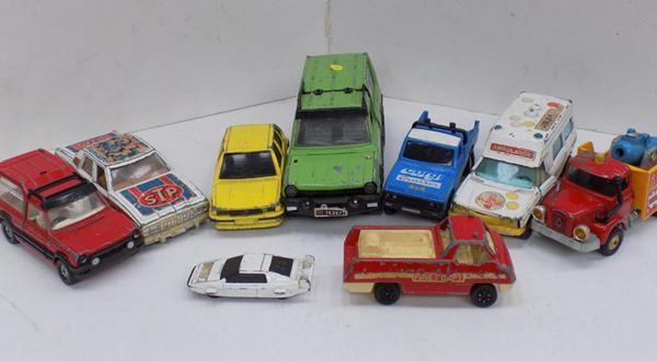 Selection of vintage die-cast, incl. Corgi