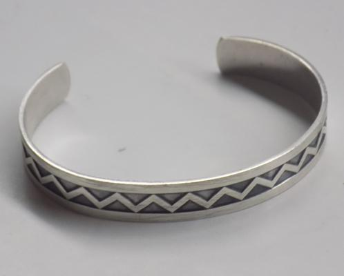 917 Finnish silver bangle, Hallmarked 1961