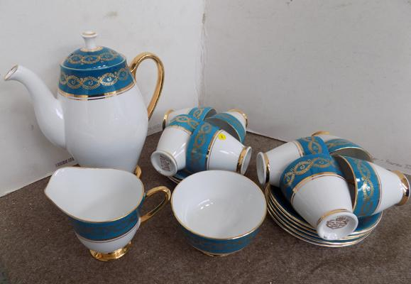 Windsor China coffee set