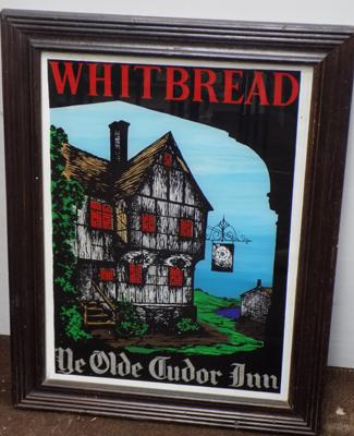 Whitbread wall mirror