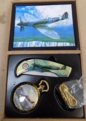 Commemorative spitfire set