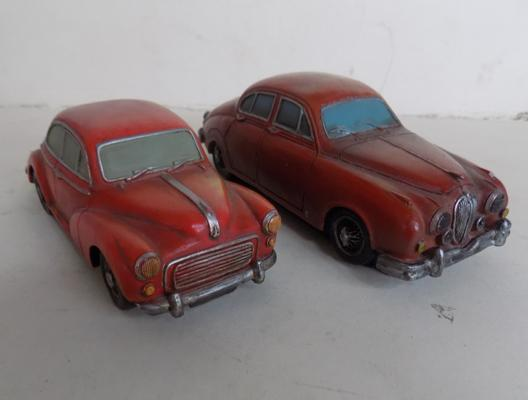2 car ornaments