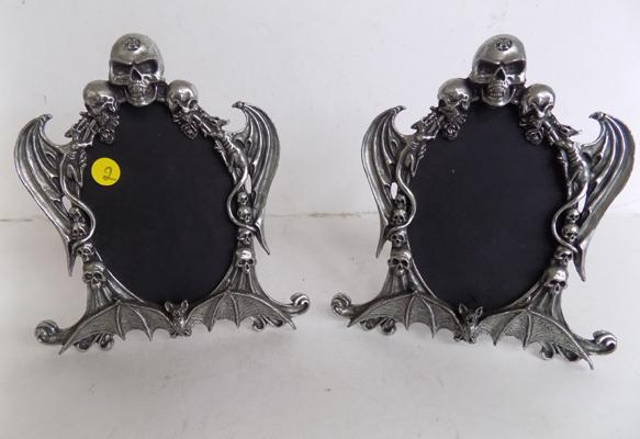 Pair of gothic picture frames by Alchemy