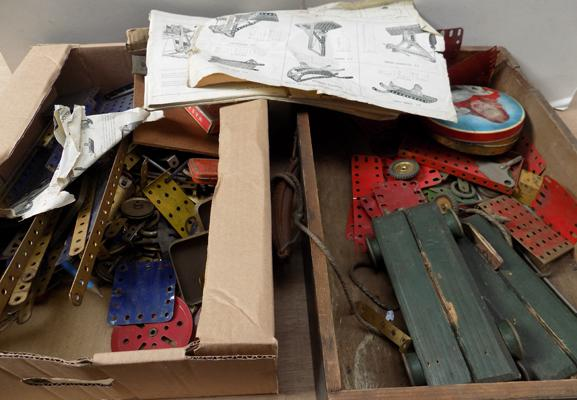 Large quantity of 1950's Meccano