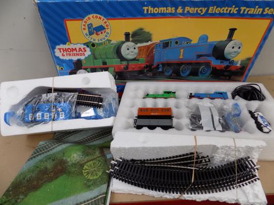 Hornby Thomas and Percy train set - layout 3 (complete)