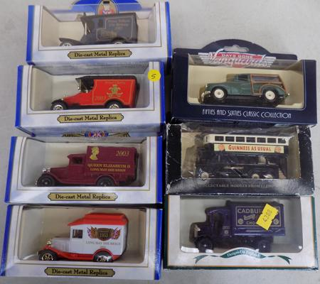 7 boxed Diecast vehicles