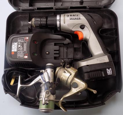 Black & Decker drill with reels