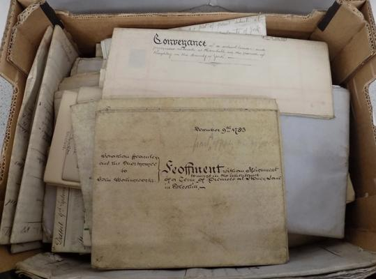 Box of Indentures/ Ephemera