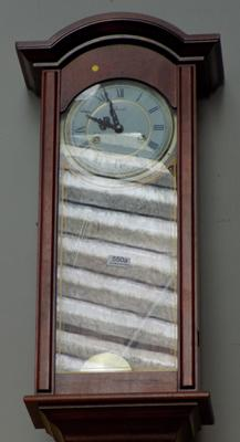 Lincoln 31 day vintage wall clock