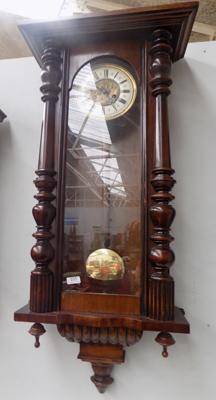 Large Vienna wall clock - at fault