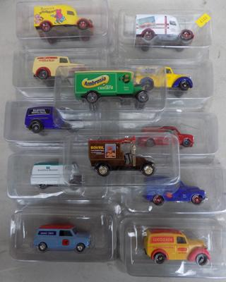 12 Days Gone By Die-cast vans