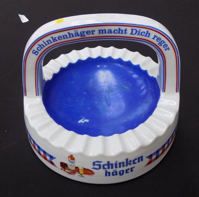 Large vintage german 'Konig' ashtray