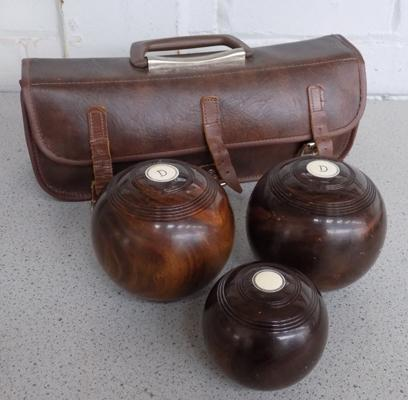 3x Bowls in carry case