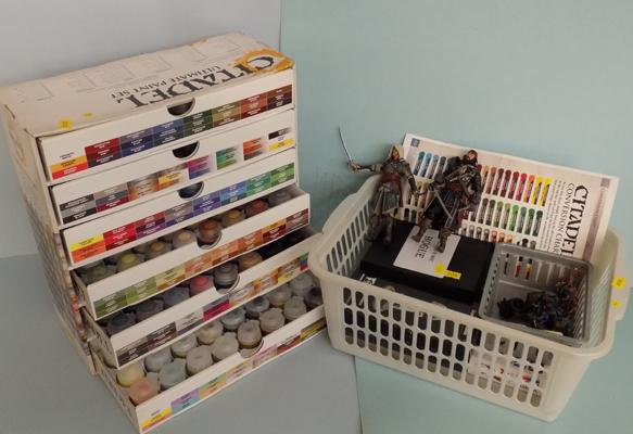 Citadel model paints, box of 144 - plus models