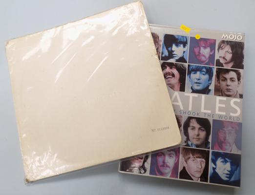 Rare 1st press mono Beatles LP & Beatles book