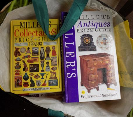 14 Antique Miller books