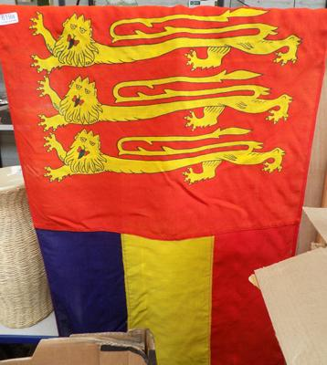 King Arthur re-enactment flag banner