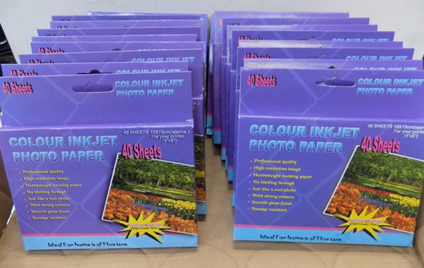 20 packs of colour inkjet photo paper