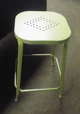 Retro workshop style kitchen stool