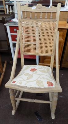 Rocking chair-new covering
