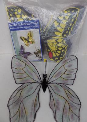 Large outdoor butterfly display