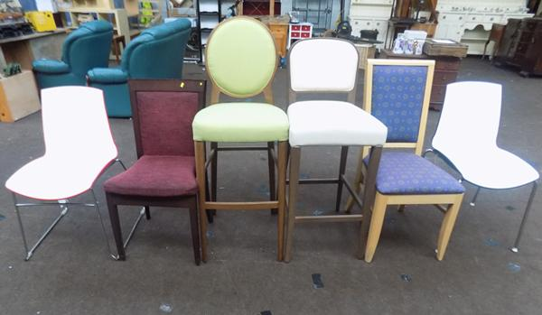 Selection of 6 new and occasional chairs