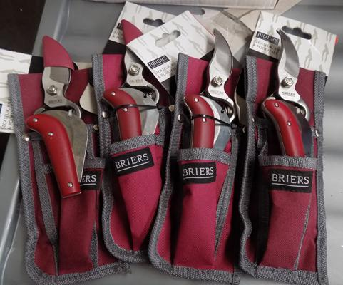 4 briers secateur kits