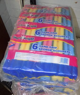 30 packs of 6 scourers
