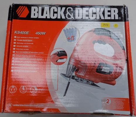 Black & Decker jigsaw in box as new