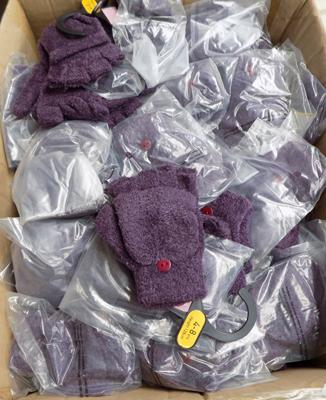 Large box of kids gloves