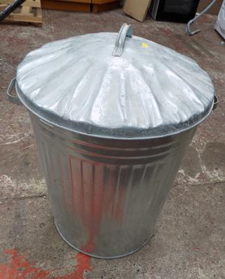 New metal dustbin