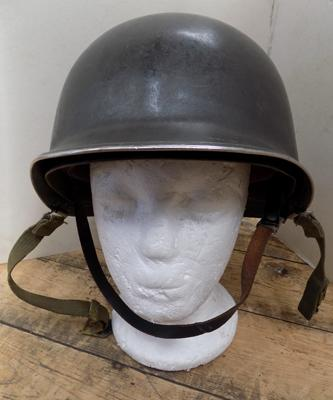 American military issue helmet, vintage