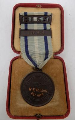 R.L.S.S. Bronze medal 1936, 'Royal Life Saving Society'