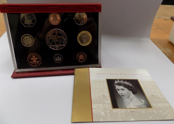 2002 proof coin set