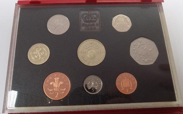 1994 proof coin set