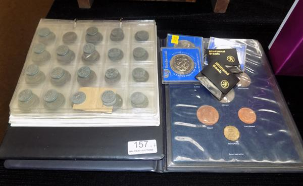 Collection of coins of Great Britain from 1950's & 60's, plus commemorative crowns 1981 & 1947-1972