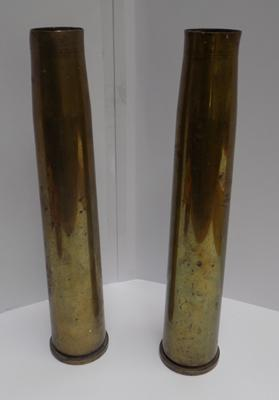 Two World War II shells