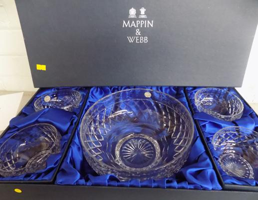 Mappin & Webb fruit bowl & dishes