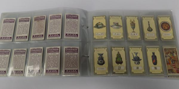 Vintage cigarette cards