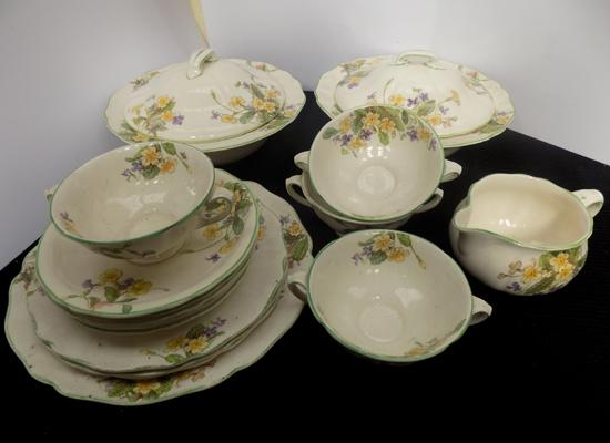 Royal Doulton 'April' part dinner service