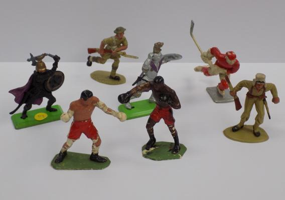 7 collectable figures incl. Britain's and others