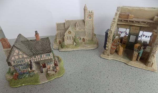 Three Lilliput items, St Lawrence church - 'Moments in Time' & 'Junk & Disorderly'